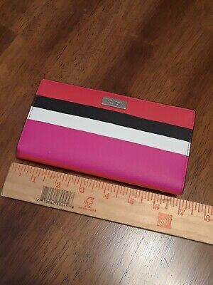 $ CDN27.02 • Buy Kate Spade Pink, Black Wallet NWOT