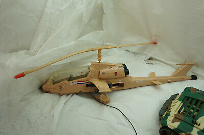 $ CDN48.51 • Buy Gi Joe Vehicle Lot Locust Helicopter Tan 2001 Jeep Vintage Hasbro Toy Parts