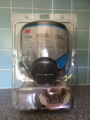 AU320 • Buy 3M Professional Full Face Respirator.  Cartridges Included. Very Comfortable.