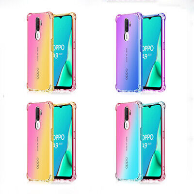 AU5.05 • Buy Gradient Mobile Phone Case Cover For OPPO A3 A3S A5 2020 A5S A7 A9 A11 A59 A83