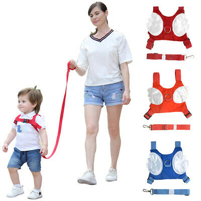 Toddler Anti-Lost Backpack Baby Safety Walking Harness Reins Leash For Kids • 5.71£