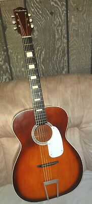 $ CDN251.93 • Buy Vintage SILVERTONE S-65 USA Acoustic Guitar