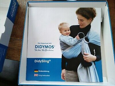 Didymos Didysling Indio Emerald Ring Sling In Very Good Condition • 53£