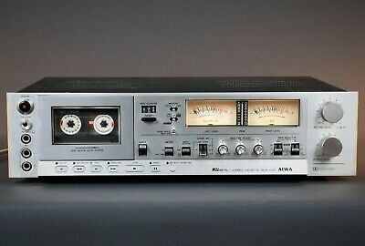 Stereo Cassette Deck AIWA AD 6700 Vintage Tape Recorder Old-school Deck 2-heads  • 399£