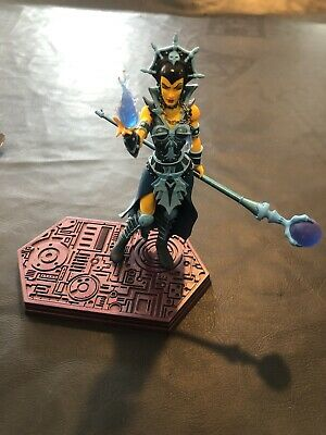 $15.50 • Buy Masters Of The Universe Evil-Lyn Yellow Staction Figure NECA Loose Complete MOTU