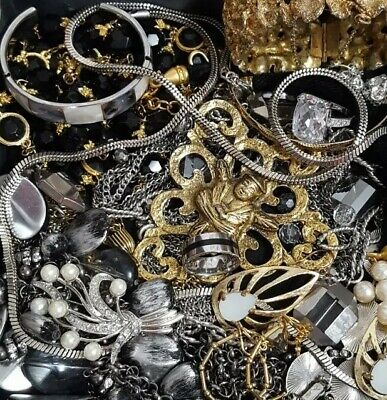 $ CDN92.26 • Buy Vintage Now Unsearched Untested NOT Junk Drawer Jewelry Lot Estate All Wear L811