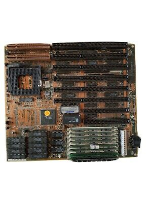 AU555 • Buy American Megatrends Ambios 486DX ISA ASY-01-00231 Motherboard | 8 X 30 Pin RAM