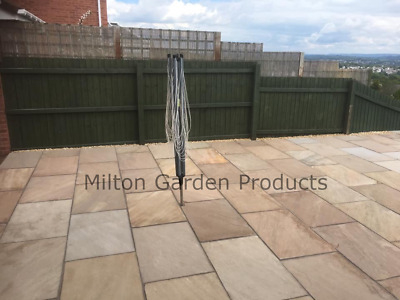 Raj Green 900x600 22mm Calibrated Natural Indian Sandstone Paving  *Nationwide* • 2.99£