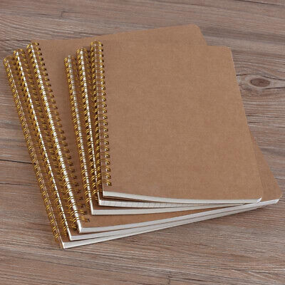 AU11.70 • Buy Pads Retro Car Line B5 Kraft Paper Notebook 16K Workbooks Coil Notebooks