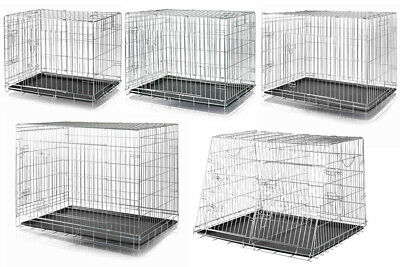 £101.99 • Buy Trixie Dog Cage Pet Metal Crate Home Foldable Easy Clean Double & Single Kennel
