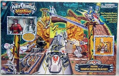 £6.49 • Buy Spare Parts For Temple Ruins Wild Force Deluxe Play Set Power Rangers - Fast P&p