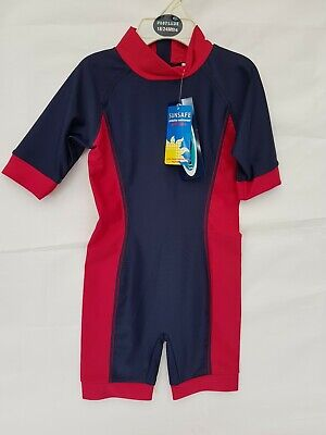 SUNSUIT PROTECTION SUIT UV 40+  BOYS OR GIRLS Blue Age 18/24mths NEW With Tags. • 2.99£