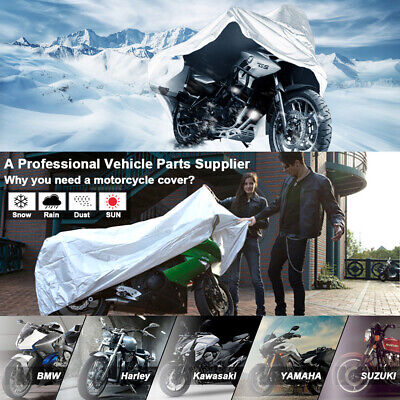 $29.44 • Buy XXXL Motorcycle Cover Waterproof Heavy Duty For Winter Outside Storage Snow Rain