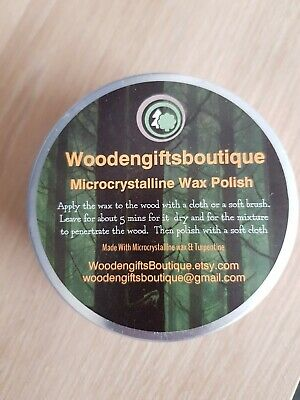 Microcrystalline Wax  150ml Tin • 10£