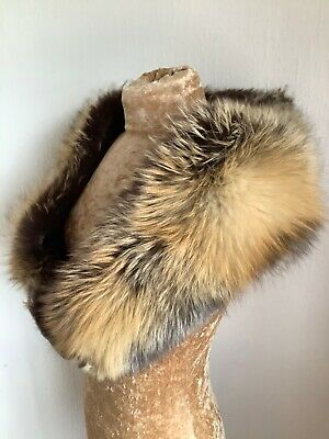 Vintage Fox Fur Stole / Wrap Good Condition Length 52 Inches  • 50£