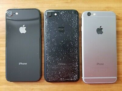 $ CDN345 • Buy Lot Of 3 - Apple IPhone 6/7/8 - Unlocked Smartphone (item#140) Read Info...