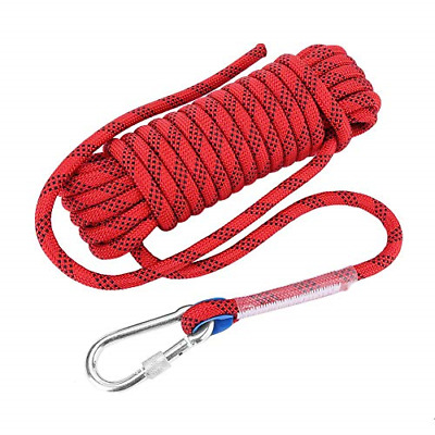 Rock Climbing Rope, 12mm Heavy Duty Home Fire Emergency Escape Rope 10M 20M Rope • 54.95£