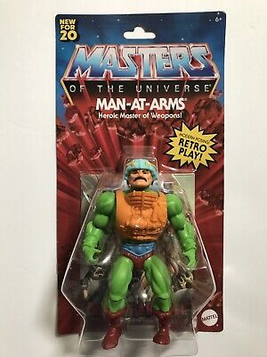 $27.95 • Buy New 2020 Masters Of The Universe Origins Man At Arms Retro Play Figure Walmart