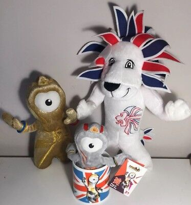 "Olympics Plush Bundle Team Great Britain Plush Lion Mascot 12"" • 15£"