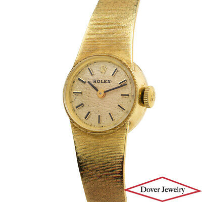 $ CDN711.82 • Buy Rolex Swiss Vintage 14K Yellow Gold Ladies Winding Watch 27.1 Grams NR
