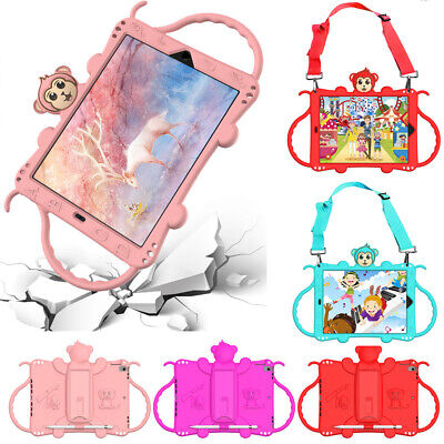 AU44.99 • Buy For IPad 7th Gen Pro10.5 Air 3 Kids Silicone Monkey Shockproof Straps Case Cover