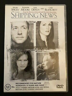 AU9.95 • Buy The Shipping News (DVD, 2001, Region 4) Kevin Spacey, Julianne Moore, Judi Dench