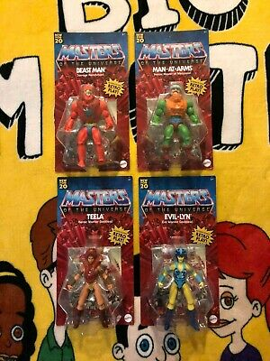 $100.50 • Buy Masters Of The Universe Origins 2020 Walmart  -Your Choice- No Punch