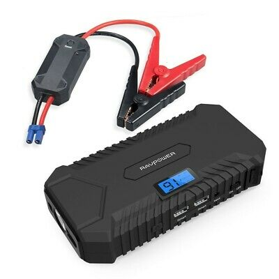 AU89 • Buy RAVPower 14000mah Car JumpStarter 550A Peak 12V (up To 5L Gas, 3L Diesel Engine)