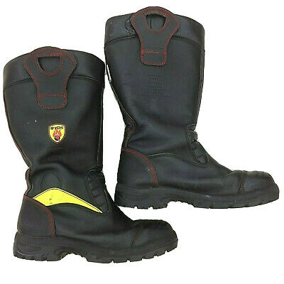 YDS British Military Firefighters Used Boots S3 Crosstech Steel Toe Cap  • 39.95£