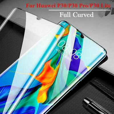 Curved Genuine Tempered Glass Screen Protector For Huawei P30 Pro New Edition • 2.95£