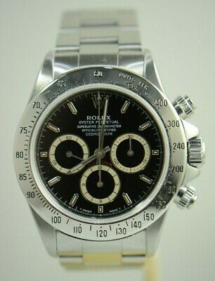 $ CDN42897.63 • Buy Rolex 16520 Zenith Daytona Stainless Steel Patrizzi  N  Serial Watch&box&paper