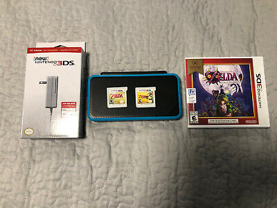 $ CDN225 • Buy Nintendo 2DS XL With 3 Zelda Games And Brand New Charger