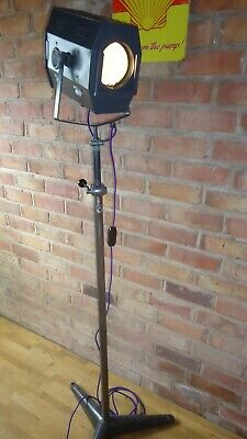 Strand Lighting Theatre Stage Lamp Pattern No.45 With Original Strand Stand   • 395£