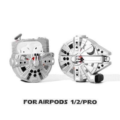 AU17.03 • Buy Millennium Falcon Spaceship Shockproof 3D Case Cover For Apple AirPods