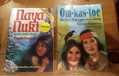 $ CDN9.34 • Buy Naya Nuki And Omkastoe Set Of Two Books Homeschool Literature Historical Fiction