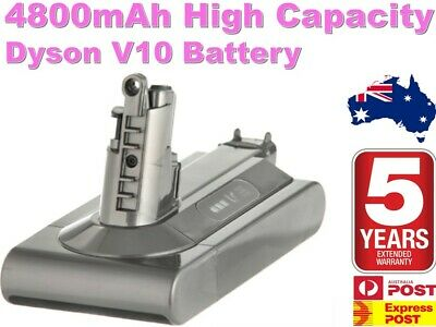 AU109.98 • Buy High Capacity Dyson Cyclone V10 Vacuum Cleaner Replacement Battery 4800mAh