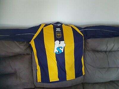 Brighton And Hove Albion Football Shirt,  Size Large, 2008/10 Away • 15£