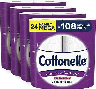 $ CDN30.17 • Buy Cottonelle Ultra ComfortCare Soft Toilet Paper With Cushiony CleaningRipples, 24
