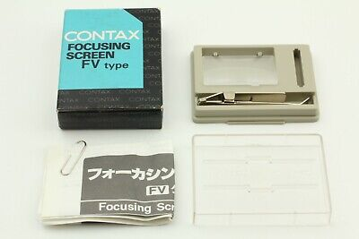 $ CDN62.65 • Buy 【Mint In BOX】CONTAX Focusing Screen Type FV-3 For RTS III From Japan #186