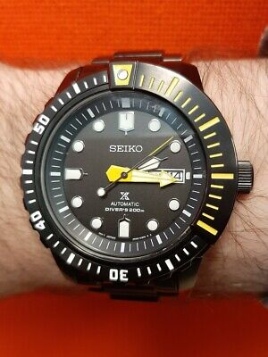 $ CDN333.35 • Buy Seiko PROSPEX MOHAWK Automatic Diver SRP633 4R36 200M BLACK YELLOW Watch