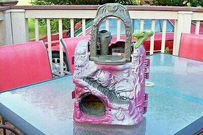 $55 • Buy MASTERS OF THE UNIVERSE MOTU Vintage 1984 Snake Mountain Playset Mattel Incomple