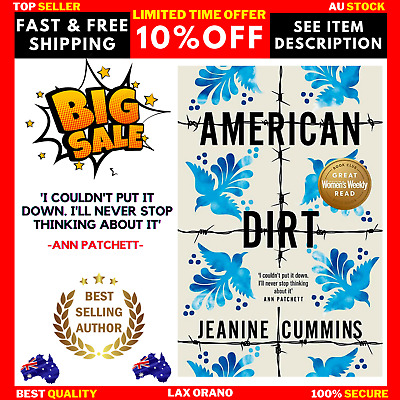 AU19.90 • Buy American Dirt By Jeanine Cummins Paperback Book - BRAND NEW - FREE SHIPPING AU