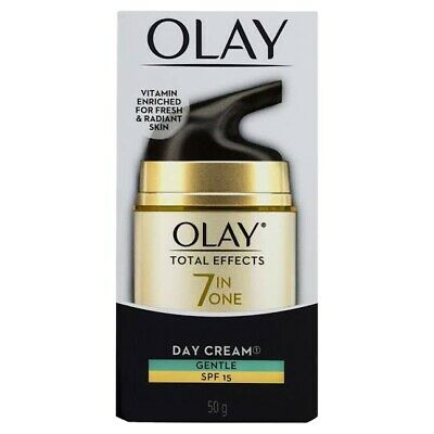 AU12.50 • Buy Olay Total Effects 7 In One Day Face Cream Gentle SPF 15 50g