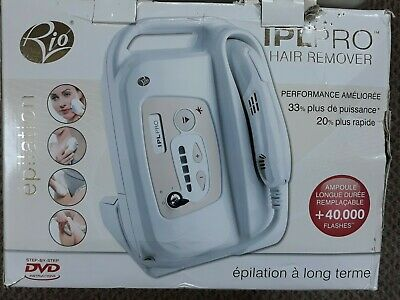 Rio IPL Pro Long Term Hair Remover + Security Key DVD  • 50£