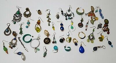 $ CDN30.31 • Buy Vintage Now Unsearched Untested Junk Drawer Jewelry Single Earring Lot