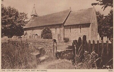 Sussex Postcard - The 12th Century Church, East Wittering   RS23098 • 2.39£