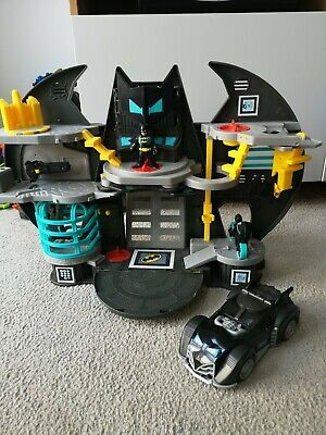 Batman Imaginext Bat Cave Playset With Motorbike, Car And Figure • 4.10£