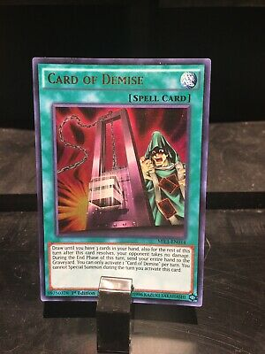 AU5.50 • Buy Yugioh Card Card Of Demise (Spell Card) 1st Edition MIL1-EN014