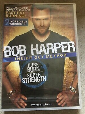 Bob Harper: Inside Out Method - Pure Burn, Cardio (DVD, 2010) NEW & SEALED • 9.99£