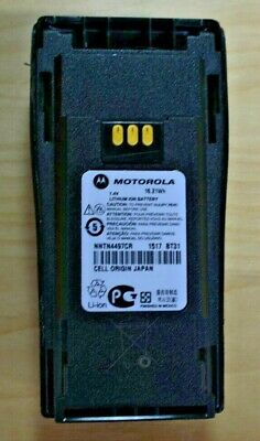 $20 • Buy Genuine Motorola Battery W/Clip NNTN4497CR For Radio XPR6550 XPR6350 XPR6500